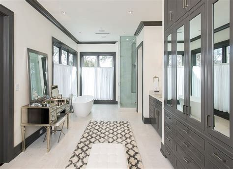 kendall charcoal bathroom htons style home with sophisticated interiors home