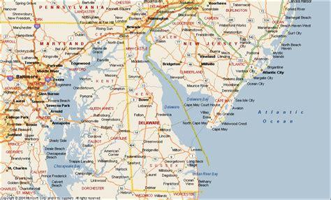 us map delaware delaware map