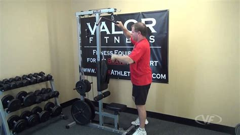 valor fitness cb  lat pulldown arm curl ab crunch home