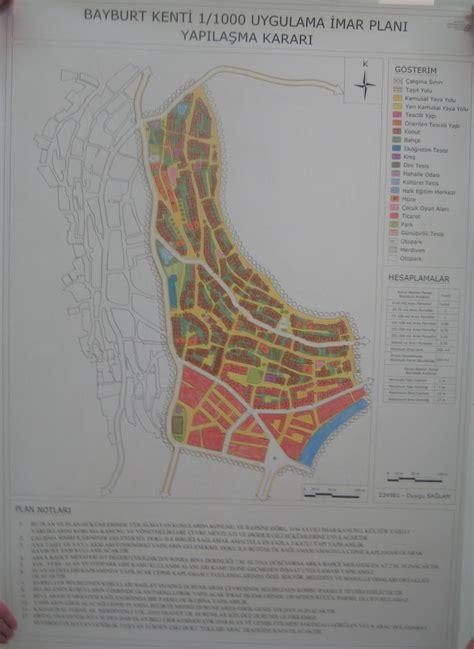 layout map español bayburt kenti uygulama imar planı 301 302 st 252 dyosu