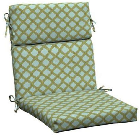 How To Make Patio Furniture Cushions Furniture Sunbrella Forest Green Outdoor Dining Chair Cushion Back Cushions For Patio Chairs