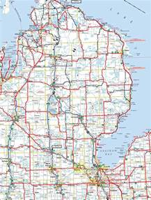 County Map Of Michigan by Michigan Map Images