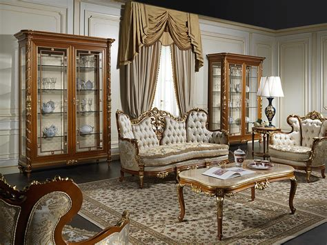 Living Room Luxury Furniture Luxury Living Room 800 Vimercati Classic Furniture