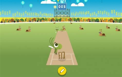 doodle cricket creates awesome cricket doodle to start