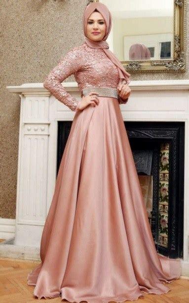 Baju Pesta Brukat Satin aneka model baju muslim brokat terbaik 2017 2018 model baru