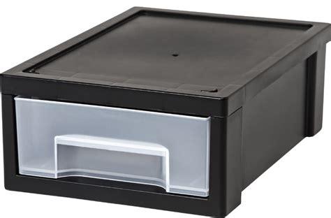 Small Desktop Storage Drawers by Small Desktop Stacking Drawer 6 Pack Black