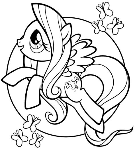 printable coloring pages my pony my pony para colorear e imprimir