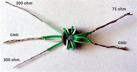 membuat antena untuk tv tuner make a wideband antenna matching transformer 183 one transistor
