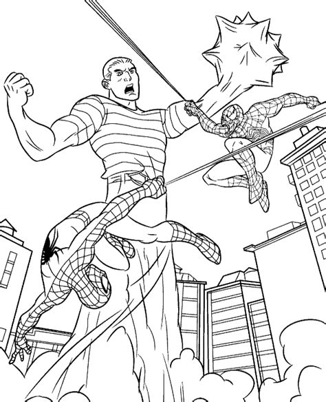 evil spiderman coloring page home spider man spiderman coloring pages 12 good versus