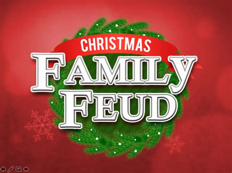 christmas family feud trivia powerpoint game mac and pc