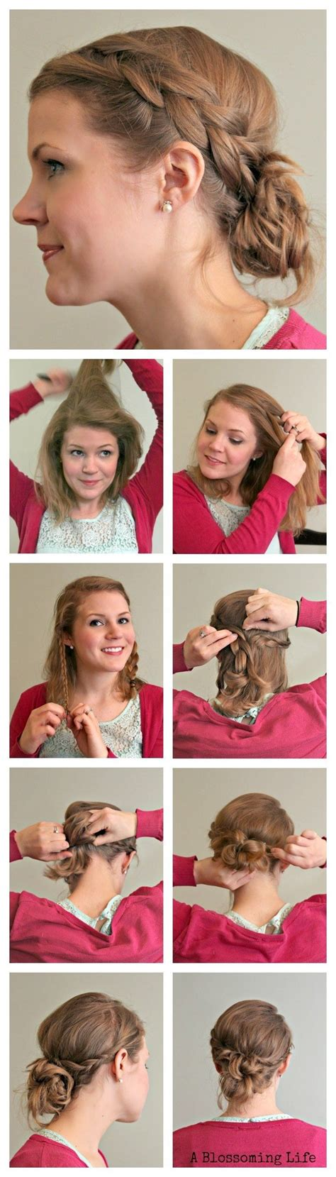 hairstyles and braids tutorial 10 simple yet stylish updo hairstyle tutorials for all