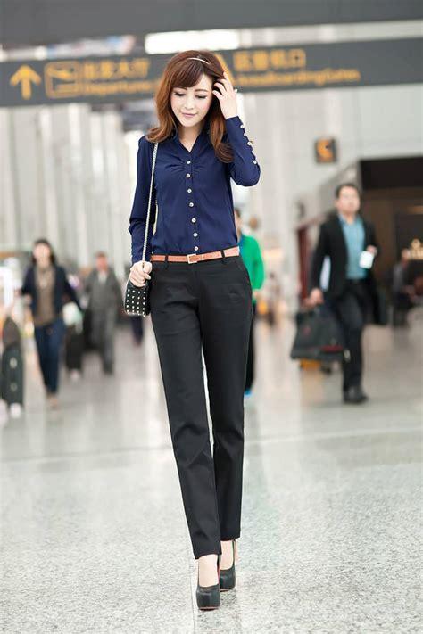 Blouse Dan Celana Wanita Wings 8 Set kemeja kerja wanita fashionista models