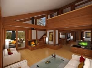 Diseno Casa dise 241 o de casa de madera de dos pisos