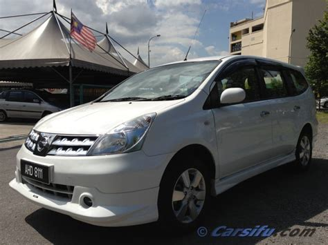 Lu Hid Grand Livina nissan grand livina 1 8 a impul for sale in klang valley