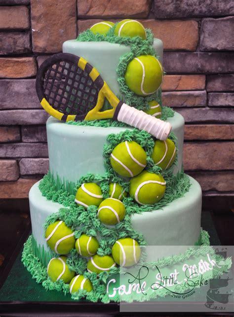 Decorated Mason Jar Ideas by Tennis Ball Birthday Cake A Little Cake