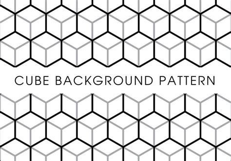 pattern cube vector cube background pattern download free vector art stock