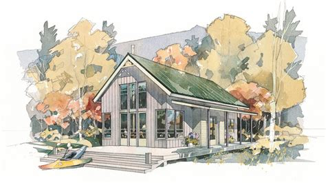 cedar creek guest house plan 1450 cabins cottages cabins cottages under 1 000 square feet southern living