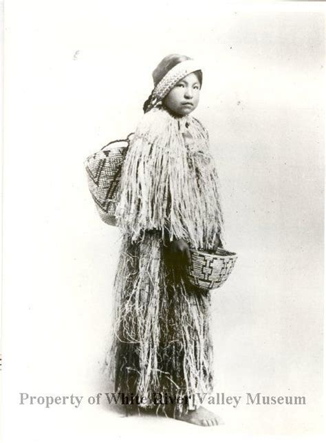 American Indian Shedding by Muckleshoot In Cedar Dress Granddaughter Of Muckleshoot Wearing Skirt And Cape