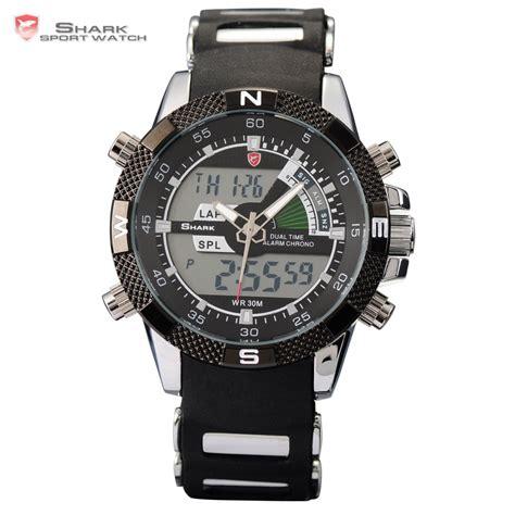 Qq Gw86j003y Manblack Analog Digital aliexpress buy porbeagle shark sport relogio digital analog dual time alarm