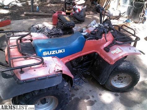 Suzuki Four Wheelers For Armslist For Sale Trade 300 Suzuki 4x4 4wheeler
