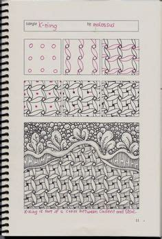 zentangle basket pattern basket weave tangle pattern step by step tangle