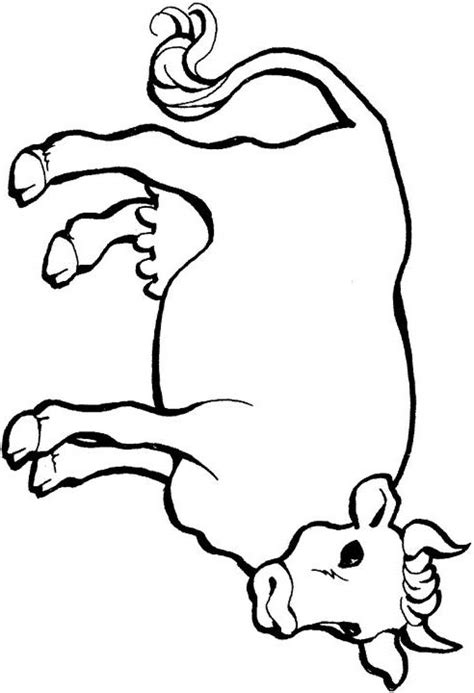 skinny cow coloring page and fat cows skinny coloring page sketch coloring page