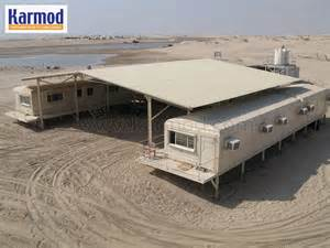 Steel Storage Containers Homes - modular camp army camp military facility karmod