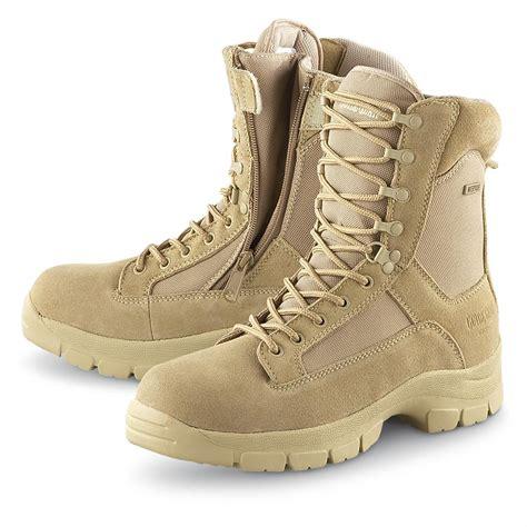 mens desert combat boots s guide gear 174 8 quot waterproof side zip desert boots