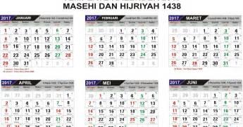 Kalender 2018 Lengkap Hijriyah Pdf Kalender 2017 Format Cdr Dan Pdf Lengkap Dengan