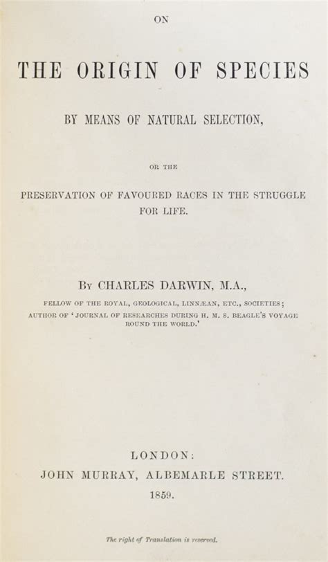 0007902239 the origin of species origin of species first edition charles darwin signed