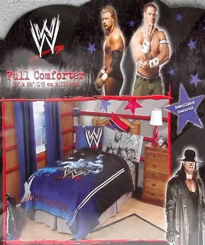 wwe bed set wwe wrestling ringside full comforter sheets 5pc bedding