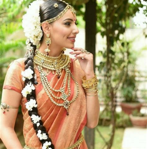 bridal hairstyles with gajra 10 beautiful hairstyles with a gajra for the bride to be