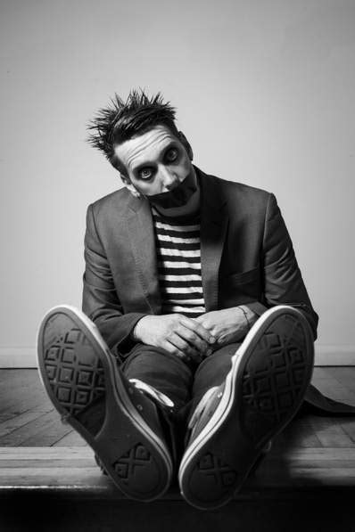 America's Got Talent standout Tape Face sticking it to New