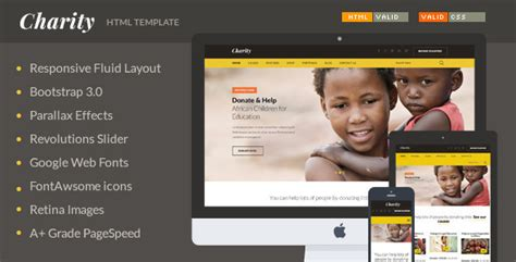 22 Best Charity Website Templates 2015 Tutorial Zone Charity Web Templates