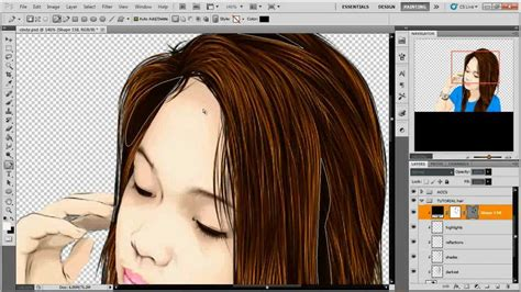 vector art photoshop cs5 tutorial vector pixel vexel simple hair photoshop cs5 youtube