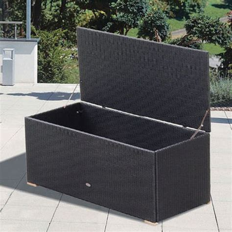 Storage For Patio free shipping on outdoor wicker storage boxes by royal teak family leisure
