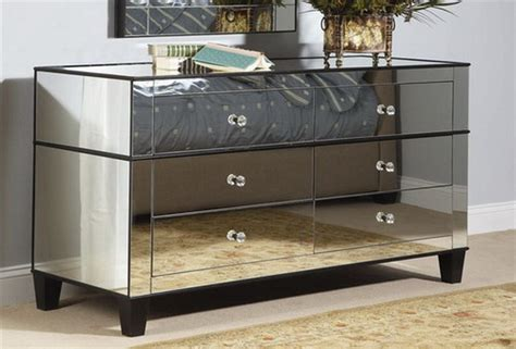 Mirrored Bedroom Dresser by Modern Bedroom Mirrored Furniture Room Decorating Ideas