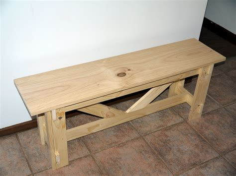 bench project ana white large rustic bench diy projects