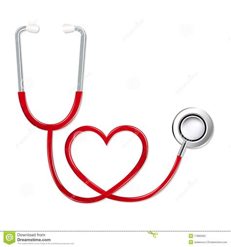 stethoscope template stethoscope in shape of vector stock photography