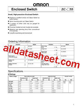 zc transistor datasheet zc q2155 datasheet pdf omron electronics llc