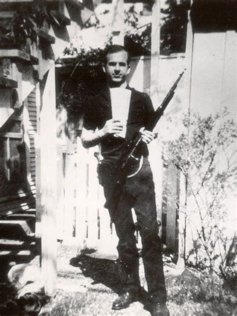 oswald backyard photo verdict is in on whether lee harvey oswald photo is a fake