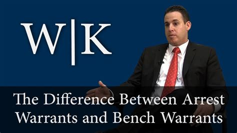 difference between a bench warrant and arrest warrant the difference between bench warrants and arrest warrants