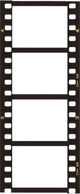 Filmstrip Template by Blank Templates Graphics