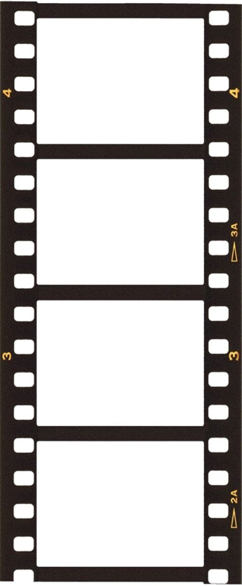 filmstrip template blank templates graphics