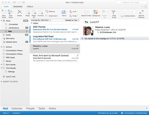 Office 365 Outlook For Mac A Review Of The New Outlook For Mac For Office 365 Kraft
