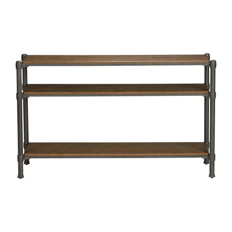 Ethan Allen Console Table Trekker Console Table Ethan Allen Us Base Shelf Is 14 5 Quot To Mid Shelf Schmidt Loft