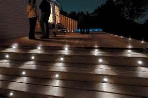 solar lighting for decks solar low voltage recessed deck lighting kits popular