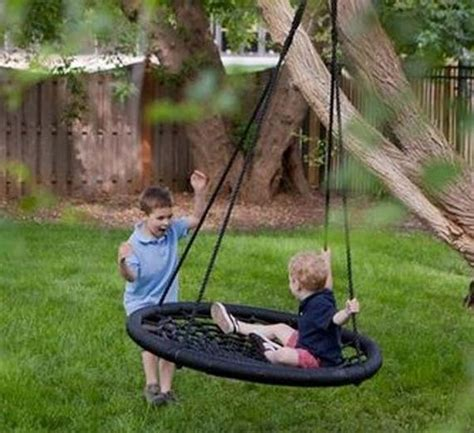 how to make a tire swing with rope amazingly diy patio and garden swings