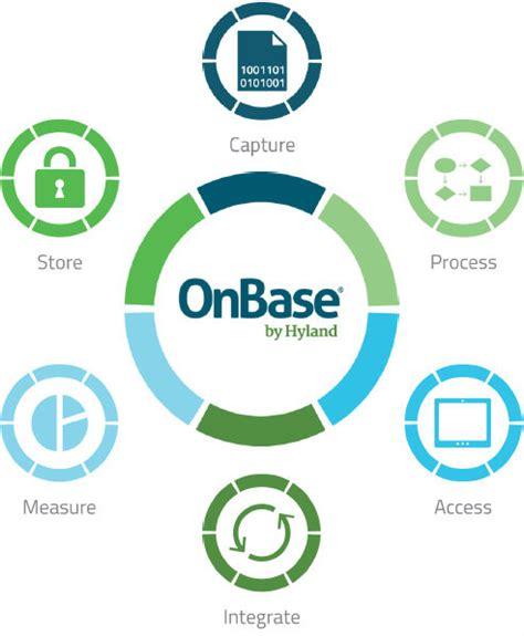 onbase workflow onbase enterprise content management datafinity