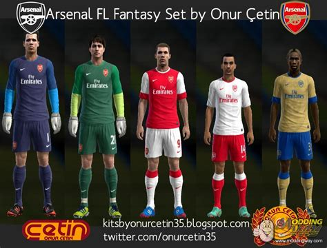 pes modif download kit away arsenal 201314 by adrian18 arsenal fantasy with 12 13 nike temp pro evolution